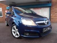 Vauxhall Zafira 1.9CDTi (120ps) SRi Diesel Manual Blue 7 Seater 2008 (57)