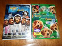 DISNEY 2 films DVD Les chiens Tobby