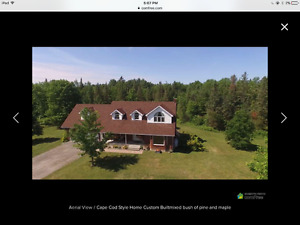 Beautiful Country Home on 93 Acres in the Ottawa Valley