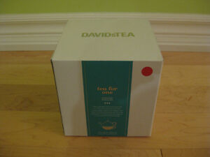 Store-M's Fred containers and David's Tea - Tea for One glass an