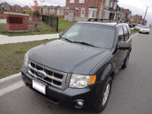 "2008 Ford Escape XLT SUV, ""EXCELLENT CONDITION"" $3400."
