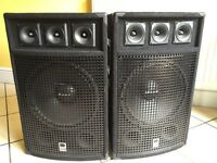 Pair of class-d dj speakers 600 w