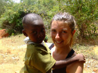Cultural exchange and teaching orphans in Kenya