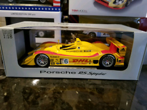1:18 Diecast Norev Dealer Edition Porsche RS Spyder