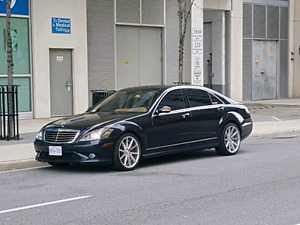 2008 Mercedes s550 AMG package