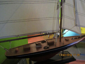 NEW wooden big yacht scale ship model, great detailed West Island Greater Montréal image 2