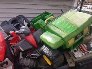 Wanted! Used a used broken power wheels type12-24v kids ride ons