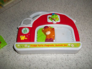 Leapfrog Fridge Farm Animal Magnet PickUp In Marmora Belleville Belleville Area image 3