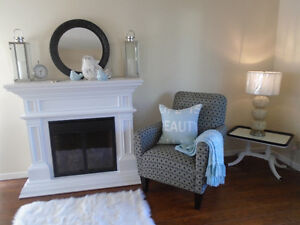 GORGEOUS MADE IN CANADA ACCENT ARM CHAIR
