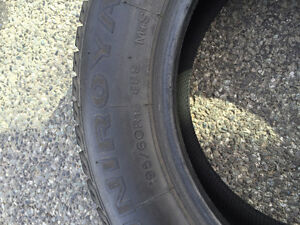4 Winter tires - Size 195/60 R15