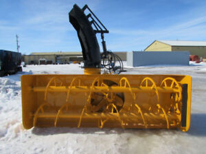 Lucknow Front Mount, Double Auger Snow Blower