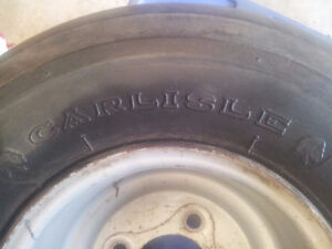 Harley golf cart rims and tires with moon caps Kitchener / Waterloo Kitchener Area image 6