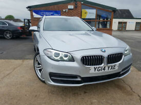 2014 BMW 520 2.0TD ( 184bhp ) Touring AUTOMATIC DIESEL FULL SERVICE