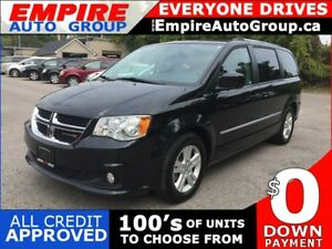 2016 DODGE GRAND CARAVAN CREW * POWER GROUP * 7 PASS * LOW KM
