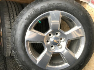 Chev/gmc 20 inch wheels and tires