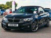 2018 BMW 2 Series Bmw 2 Convertible 220d 2.0 M Sport 2dr Auto Convertible Diesel