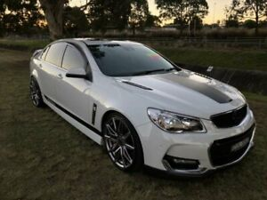 2016 Holden Commodore VF II SS-V Redline White 6 Speed Manual Sedan Mayfield East Newcastle Area Preview