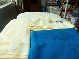 Baby items-blankets,towels,face cloths etc.