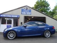 2007 07 BMW 3 SERIES 2.5 325I M SPORT 2D 215 BHP COUPE FULL LEATHER