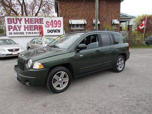 "2008 JEEP COMPASS NORH EDITION 4X4 ""WOW ONLY 149,000 KM"""