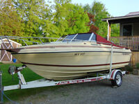 1987 Thundercraft Magnum 190 with trailer