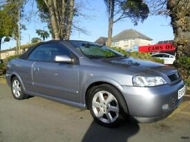 VAUXHALL ASTRA 1.6 BERTONE CONVERTIBLE 2004 COMPLETE WITH M.O.T HPI CLEAR INC
