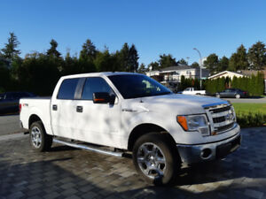 2014 Ford F-150 SuperCrew 4X4. With Cover.