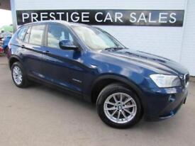 2012 BMW X3 2.0 20d SE xDrive 5dr Diesel blue Automatic