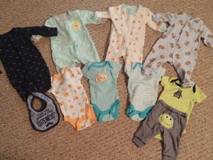Baby boy clothes NB/0-3 mths