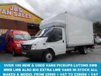 LUTON BOX VAN T350 2.4 DIESEL 1 OWNER VAN LOW MLS