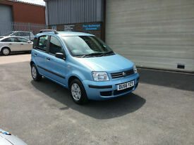 2006 56 FIAT PANDA 1.2 AIR CON DYNAMIC 5 DR,ONLY 72000 MILES WARRANTED.