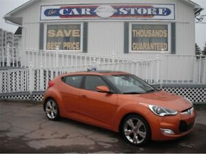 2014 Hyundai Veloster HEATED PARTIAL LTHR BACK UP CAMERA!! BLUET