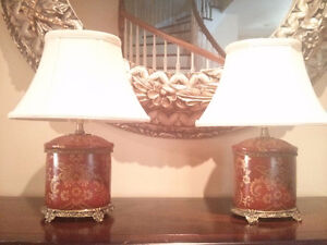 Set of 2 Bombay lamps