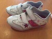 Clarks girls trainers 10.5 G