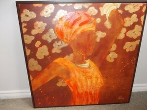 African Art - framed picture