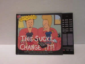 "Beavis and Butthead "" this sucks change it"" 1994 hardcover comic Windsor Region Ontario image 1"