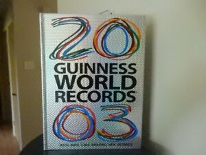 GUINNESS- WORLD RECORDS 2003