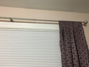 Umbra curtain rod