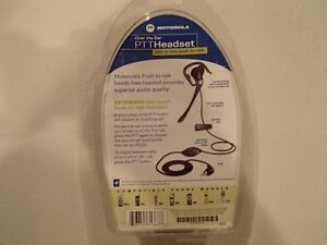 Motorola Over The Ear PTT Headset - New - 2.5 mm tip Sarnia Sarnia Area image 2