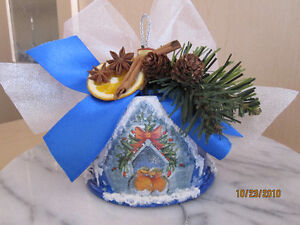 Beautiful Hand Crafted Christmas Decoration or Present London Ontario image 6