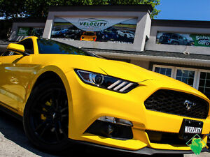 '16 Ford Mustang EcoBoost ParkSense+SYNC+BORLA! Only $166/Pmts!!