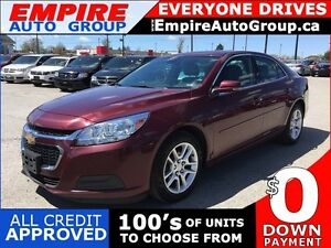 2016 CHEVROLET MALIBU LIMITED LT * LEATHER/CLOTH * SUNROOF * REA
