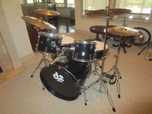Drum Set with Zildjian Cymbals