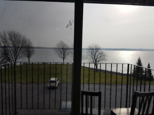 2-BD APT.  FOR RENT NEAR THE ST.LAWRENCE RIVER,  MAY 1St, JUNE 1