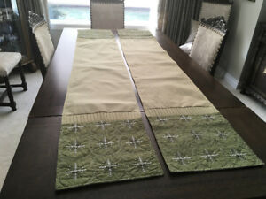 New Christmas Table Runners TWO