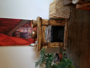 REFINISH ELECTRICAL FIREPLACE