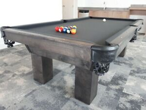 Canadian made pool tables - customize your colours