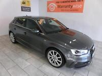 2013 Audi A3 2.0TDI ( 150ps ) Sportback S Line ***BUY FOR ONLY £72 PER WEEK***