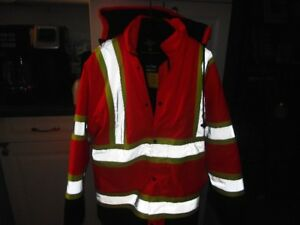 Men's 4n1 Winter Safety Jacket