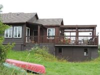 Waterfront cottage on private trout lake